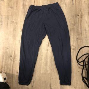Aerie navy blue sweatpants